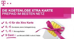 T-Mobile Xtra Gratis Sim